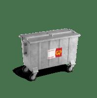 Organische (GFT) container staal vanaf 800l