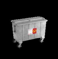 Bedrijfsafval container staal vanaf 800l